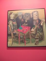Bedri Rahmi Eyüboğlu - Han Havesi (Coffeehouse) 1973