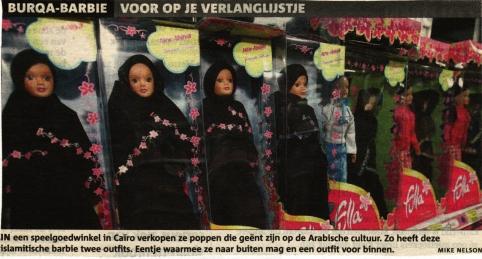Burqa-Barbie op je verlanglijst (25-11-05)