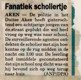 Fanatiek scholiertje (2005)