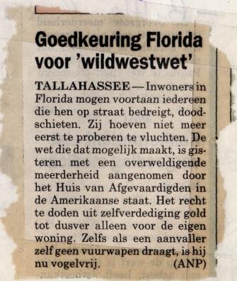goedkeuring florida wildwest