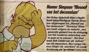 Homer filosoof decennium