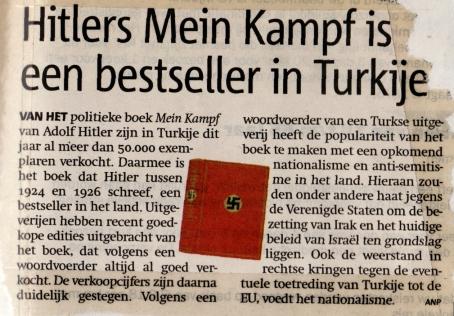 Mein Kampf bestseller Turkije (19-03-05)