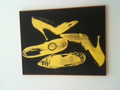 Andy Warhol - Diamond Dust Shoes 1980