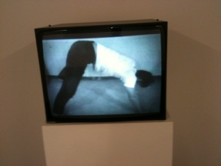 Bruce Nauman - Wall-Floor Positions (Video-Still) 1968