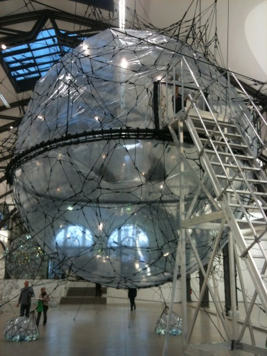 Tomás Saraceno - Cloud Cities 2011 07