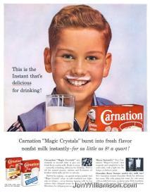 Carnation Instant Milk- 19600606 Life