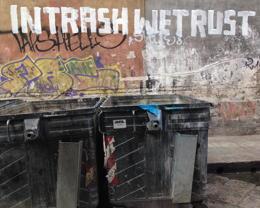 IN TRASH WE TRUST