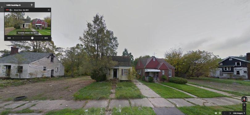 Hazelridge, dans le Nord-Est de Détroit, en 2011