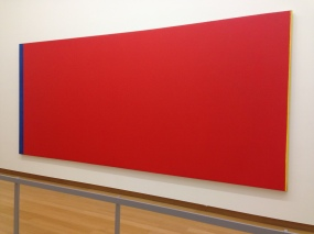 Barnett Newman - Who's Afraid of Red, Yellow and Blue III