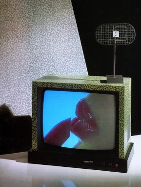 Ettore Sottsass and Matteo Thun, Television, for Brionvega, 1979-1980
