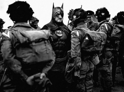 Superheroes-in-Old-War-Photos-07