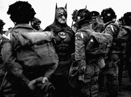 Superheroes-in-Old-War-Photos-07