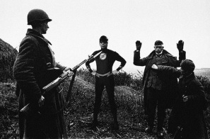 Superheroes-in-Old-War-Photos-12