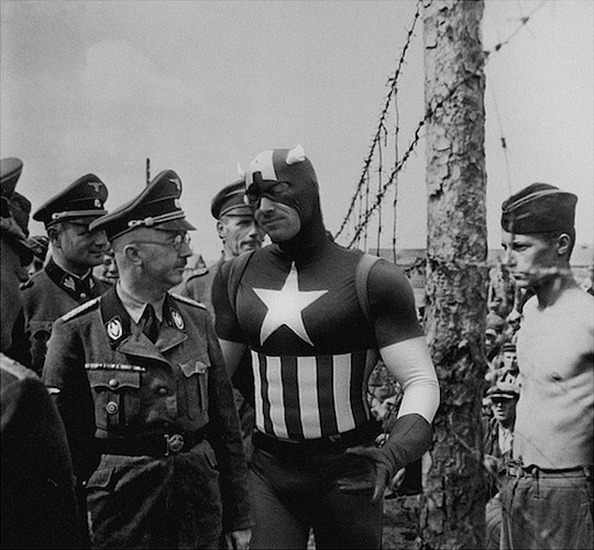 Superheroes-in-Old-War-Photos-13