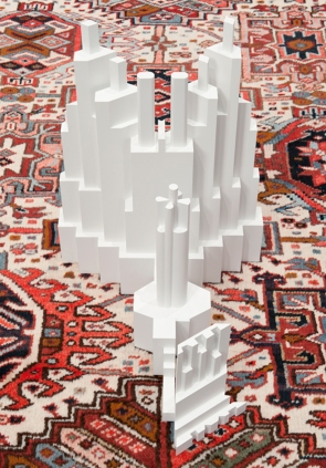 carpet pattern skyscraper sculptures by babak golkar3