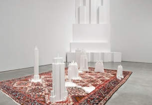 carpet pattern skyscraper sculptures by babak golkar4