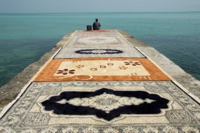 Jalal Sepehr- Water and Persian Rugs 2004