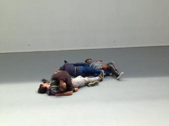 Alexandra Pirici & Manuel Pelmus - An immaterial retrospective of the Venice Biennale - IMG_3988