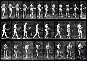 Eadweard Muybridge- Naked Truths_Walking Sprinkling Water054