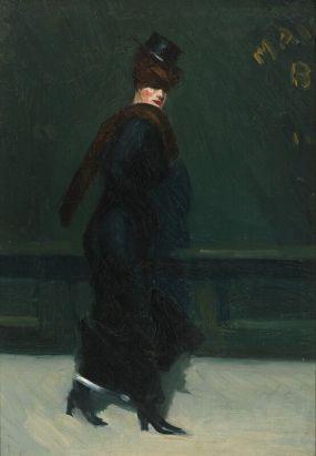 Edward Hopper, Woman Walking, 1906
