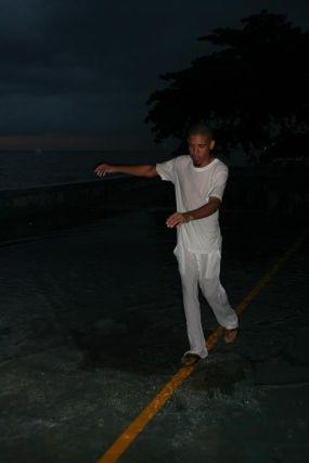 Fermin Ceballos (Dominican Republic), %22Por la linea%22, Santo Domingo, Dominican Republic, 2006