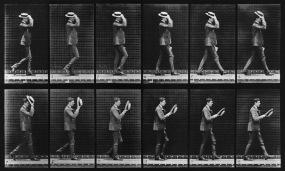Plate 44 (Man Taking Off Hat), by Eadweard Muybridge | 20x200