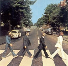 The Beatles (UK), %22Abbey Road Album's cover%22, London, UK, 1969