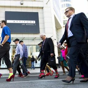 Walk a Mile in Her Shoes (Event), Toronto, Canada, 2012
